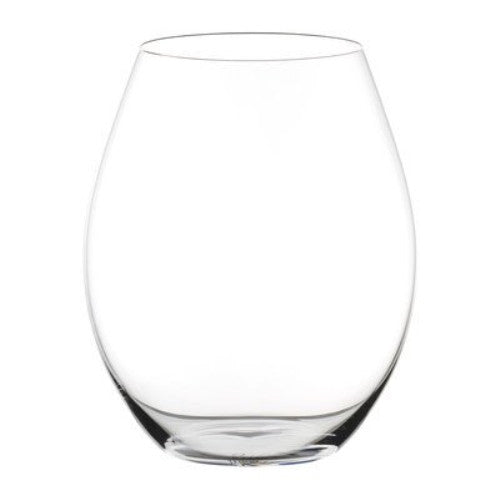 Riedel Unisex Big O Syrah Glass Set of 2 Clear Glassware