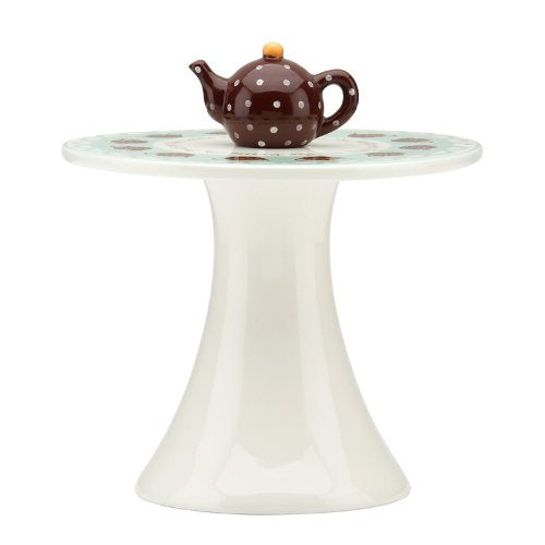 Gorham Merry Go Round Polly Put The Kettle On Pedestal Dessert Server(s)
