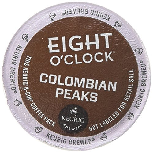 Eight O'Clock Coffee Colombian Peaks Coffee - 18 ct