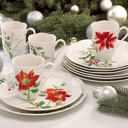 Lenox Winter Meadow 12 Piece Dinnerware Set
