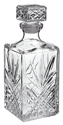 Bormioli Rocco Selecta 33-3/4-Ounce Decanter with Stopper