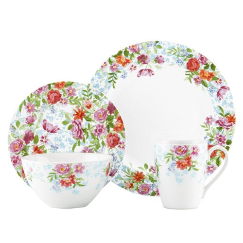 Gorham Kathy Ireland Home Spring Bouquet 4-Piece Place Setting