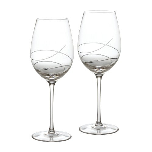 Waterford Ballet Ribbon Essence Goblet/Wine Pair