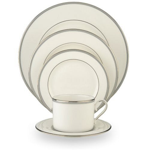 Lenox Columbus Circle Platinum-Banded 5-Piece Place Setting, Service for 1