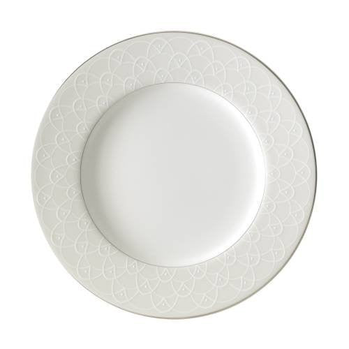 Waterford BALLET ICING PEARL ACCENT SALAD PLATE, 9""
