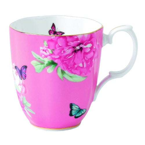 Royal Albert MIRANDA KERR VINTAGE MUG 13.5 OZ FRIENDSHIP (PINK)