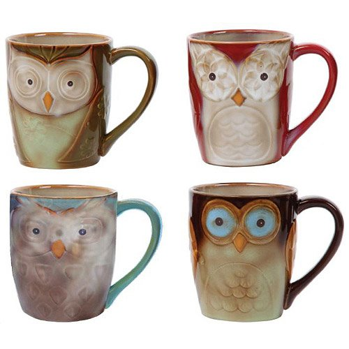 Owl City 17 oz Cup - 4 Assorted Designs