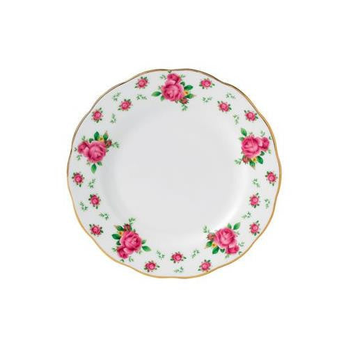 Royal Albert NEW COUNTRY ROSES WHITE BREAD & BUTTER PLATE 6.3""