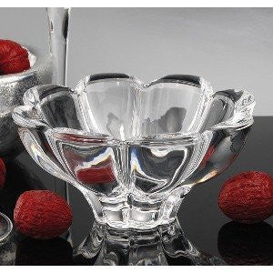 Godinger 43958 Zinnia Crystal Small Bowl