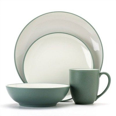 Colorwave Green 4 Piece Place Setting