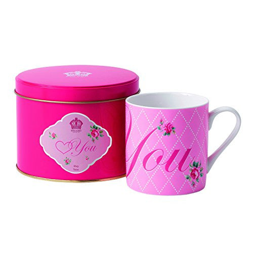 Royal Albert MARVELOUS MUGS LOVE YOU 10.2 OZ