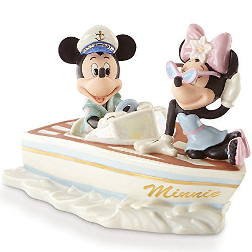 "Lenox ""Cruising The Waves With Minnie"" Figurine"