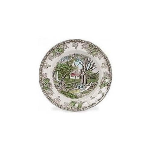 Wedgwood FRIENDLY VILLAGE RIM SOUP/PASTA 8.5""