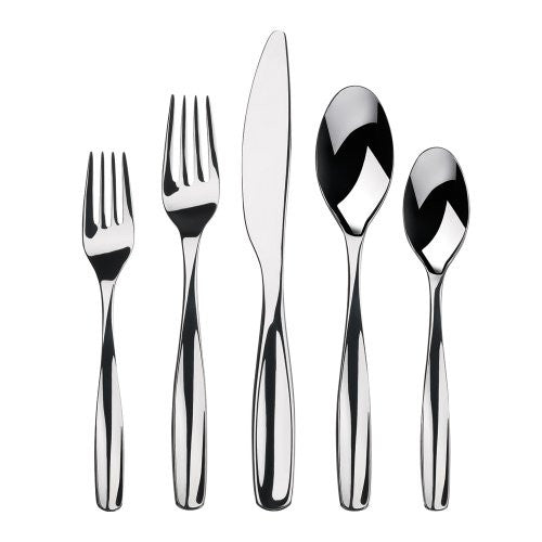 "Gourmet Settings ""Vault"" 20-Piece 18-0 Chrome Stainless Steel, polished finis..."