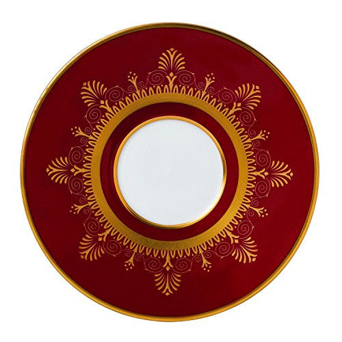 Wedgwood ANTHEMION RED TEA SAUCER