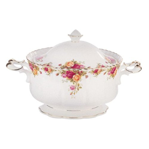 Royal Albert OLD COUNTRY ROSES SOUP TUREEN 146 OZ