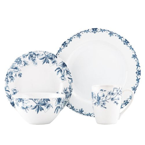 Gorham Kathy Ireland Home Nature's Song 4-Piece Place Setting