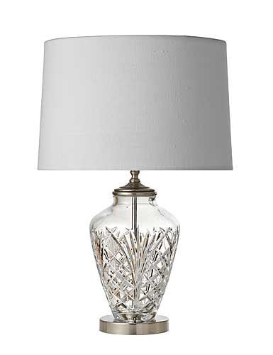 "Waterford AVERY TABLE LAMP 22"" - POLISHED BRASS"
