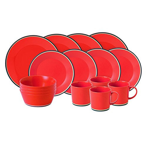 COLOURS ORANGE 16-PIECE SET