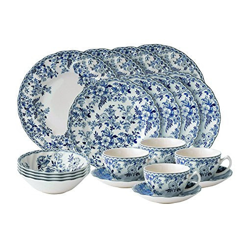 Wedgwood DEVON COTTAGE 20-PIECE DINNERWARE SET