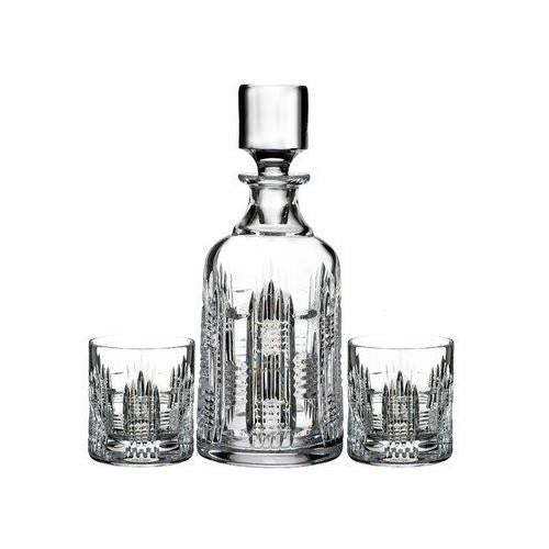 Waterford DUNGARVAN DECANTER SET - DECANTER+ TWO 7OZ TUMBLERS