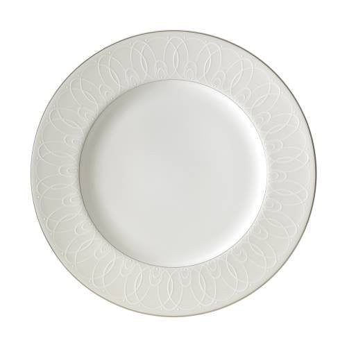 Waterford BALLET ICING PEARL DINNER PLATE, 10.75""