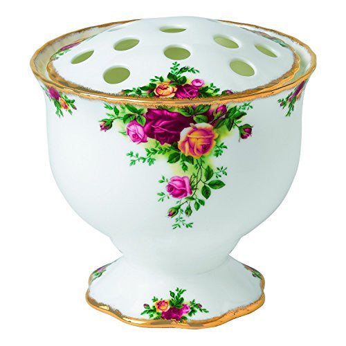 Royal Albert OLD COUNTRY ROSES ROSE BOWL/ARRANGEMENT VASE 5.5""
