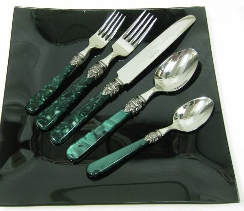 Barenthal Flatware VERT 20 Piece set Serive for 4 18/10 stainless steel