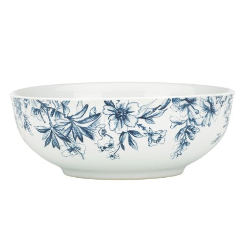 Gorham Kathy Ireland Home Nature's Song Vegetable Bowl