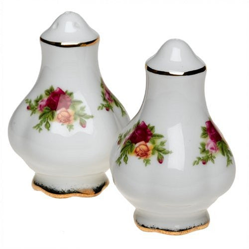 Royal Albert OLD COUNTRY ROSES SALT & PEPPER 3""