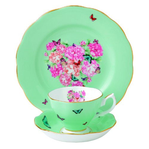 Royal Albert MIRANDA KERR 3-PIECE SET BLESSINGS (TEACUP, SAUCER, PLATE)