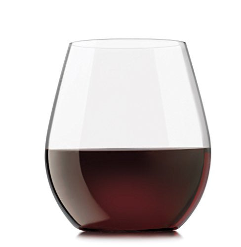 Libbey Kentfield Stemless Red 4p 9017/NLS4