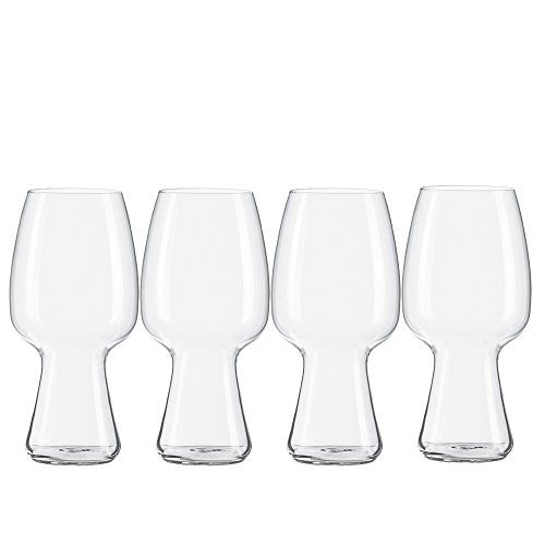 Spiegelau 4991381 Stout Craft Beer Glasses (Set of 4), Clear