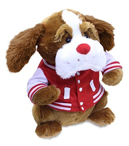 Cuddle Barn Valentine's Day Animated Plush Dog Toy - Scrappy with FREE Gift B...