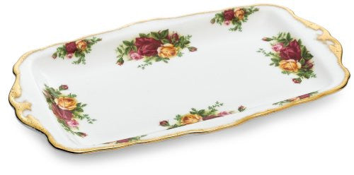 Royal Albert OLD COUNTRY ROSES SANDWICH TRAY 11.8""