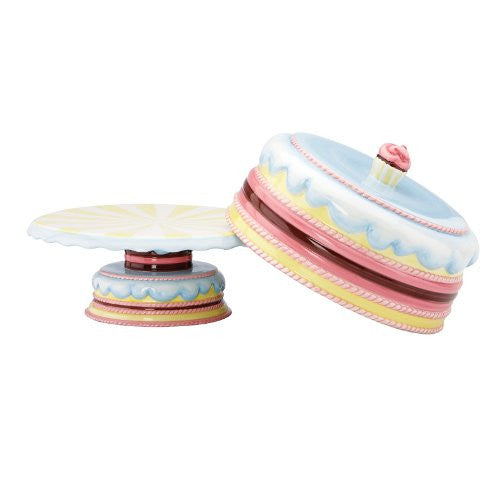 Gorham Merry Go Round Pat-A-Cake Footed Cake Plate