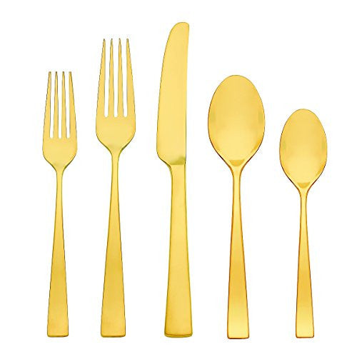 Gorham Argento Gold Luster 5-Piece Stainless Place Setting