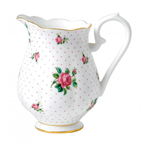 "Royal Albert NEW COUNTRY ROSES TEA PARTY PITCHER 7.3"" PINK ROSES"