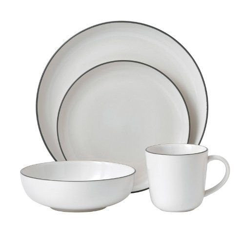BREAD STREET 4-PIECE SET WHITE