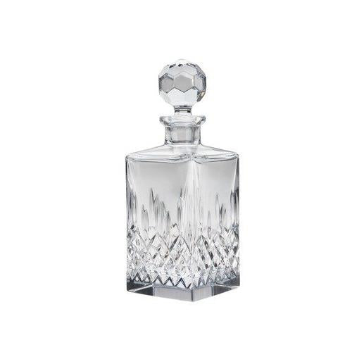 Reed & Barton 10-1/2 Hamilton Full Lead Crystal Decanter, 26-Ounce