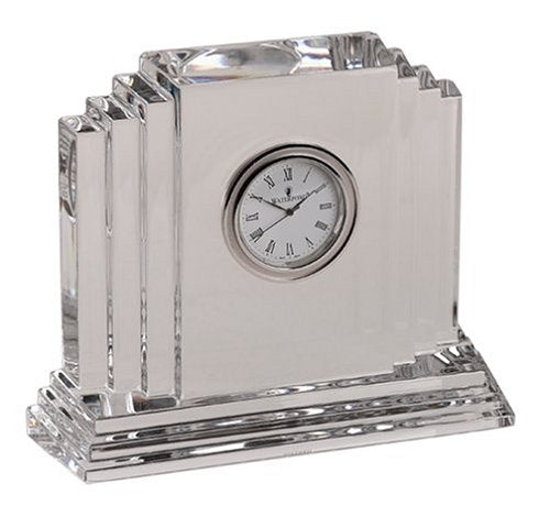 Waterford Crystal Metropolitan Medium Clock