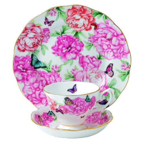 Royal Albert MIRANDA KERR 3-PIECE SET GRATITUDE (TEACUP, SAUCER, PLATE)