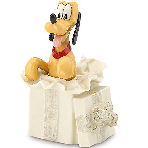 Disney's Pluto's Surprise Gift Figurine by Lenox