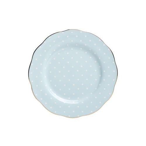 Royal Albert POLKA BLUE SALAD PLATE 8.3""