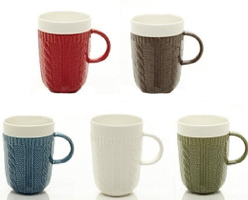 10oz Sweater Mug Set Of 6