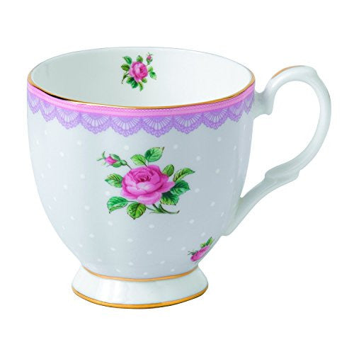 Royal Albert CANDY VINTAGE MUG 10.5 OZ LOVE LILAC