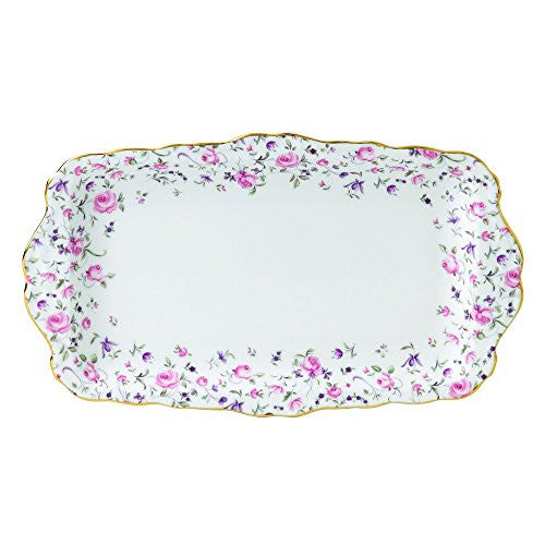 Royal Albert ROSE CONFETTI SANDWICH TRAY