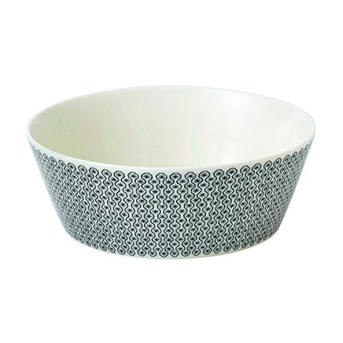 CHARLENE MULLEN FOULARD STAR LARGE SERVING BOWL 9.8""