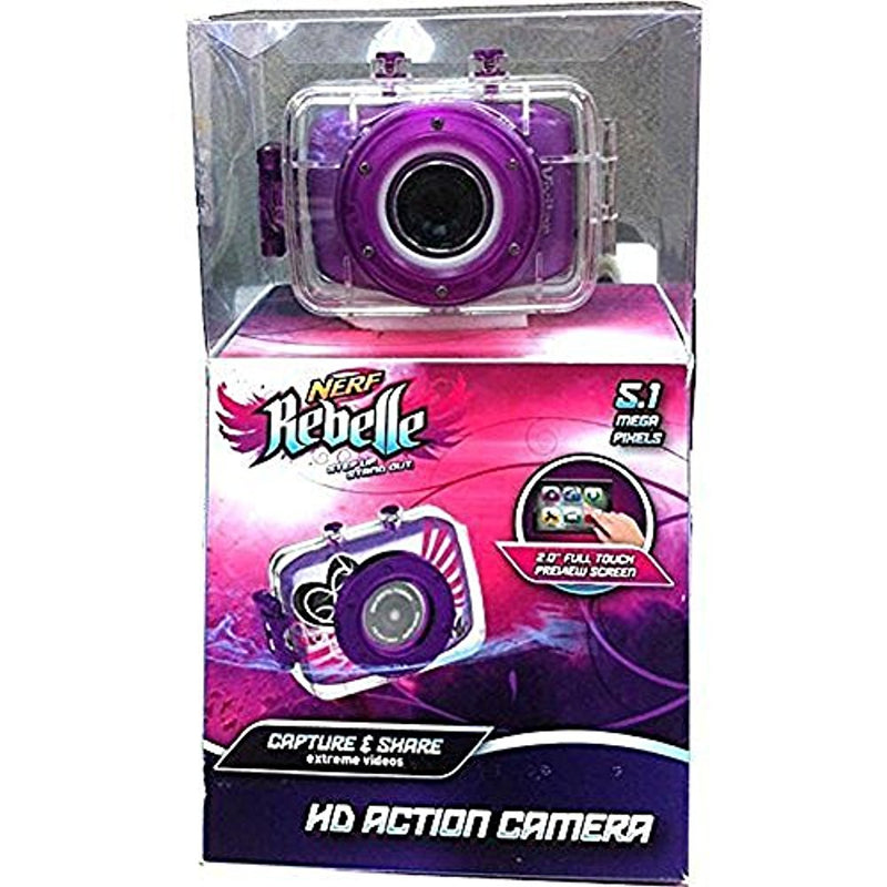 Nerf Rebelle Action Cam kit W Helmet mount, Bike Mount, and Nerf Blaster Mount
