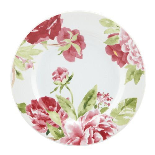 Gorham Kathy Ireland Home Blossoming Rose Canape Plates, Set of 4